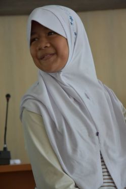 senyum Icha
