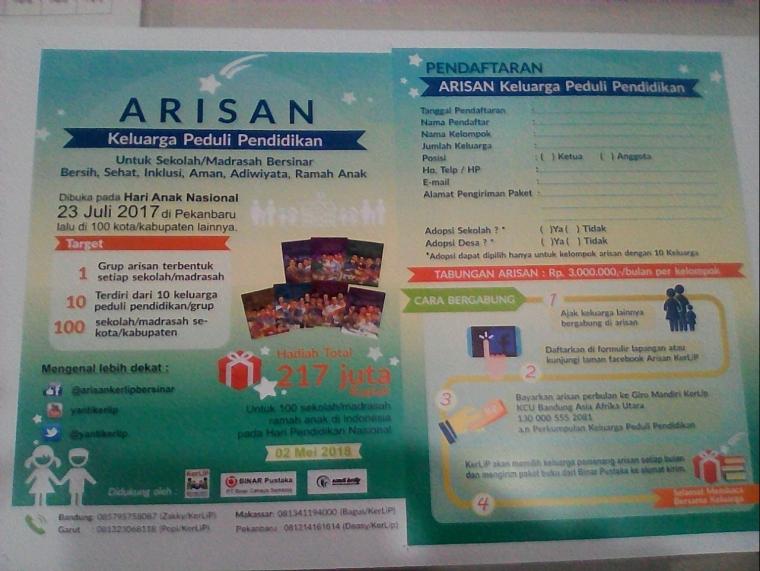 Brosur Arisan